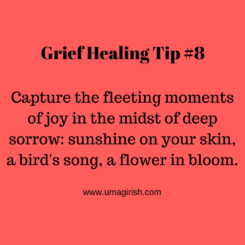 Grief Healing Tip #8: Capture Moments of Joy