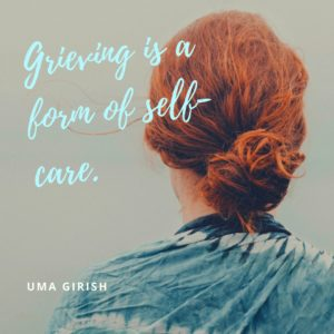 grieving is self care
